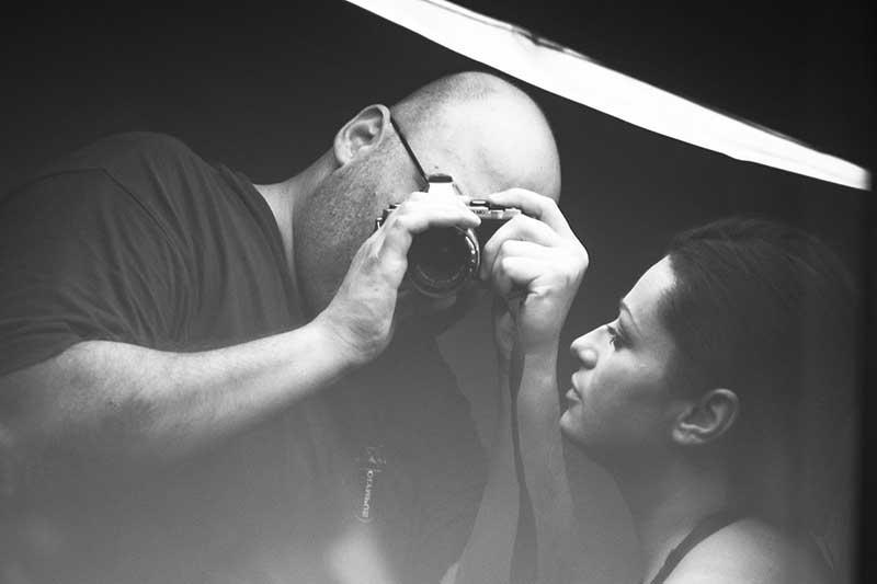 Der Fotograf und das Modell